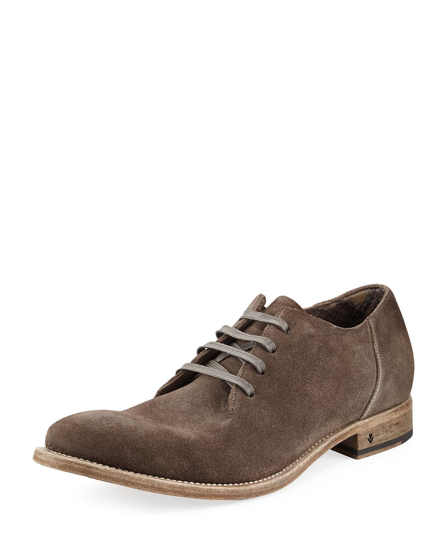 Fleetwood Suede Oxford Shoe