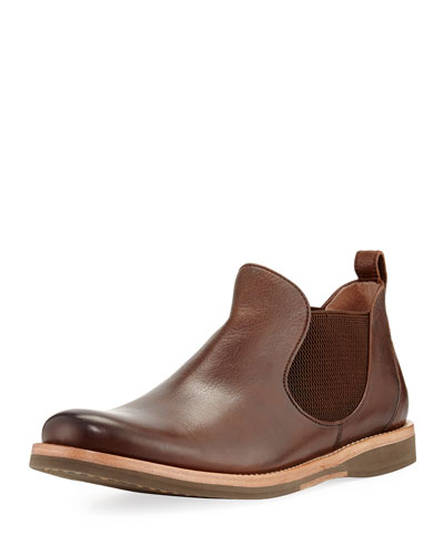 Brooklyn Leather Chelsea Boot, Brown
