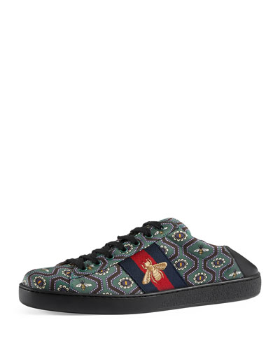 New Ace Bee-Print Sneaker, Multicolor
