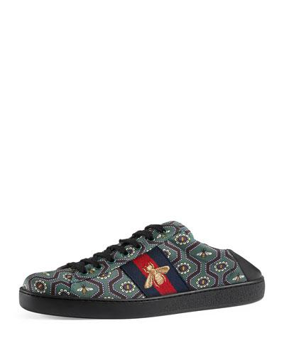 Men's New Ace Bee-Print Sneakers, Multicolor