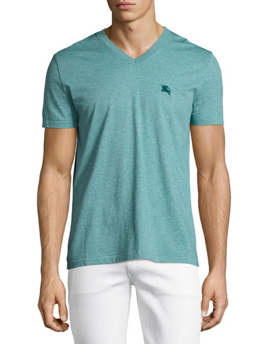 Lindon V-Neck T-Shirt, Green