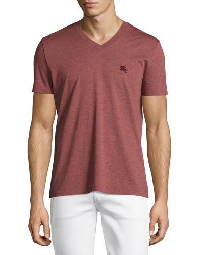 Lindon V-Neck T-Shirt, Red