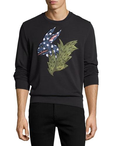 Canton Beasts Printed Sweatshirt