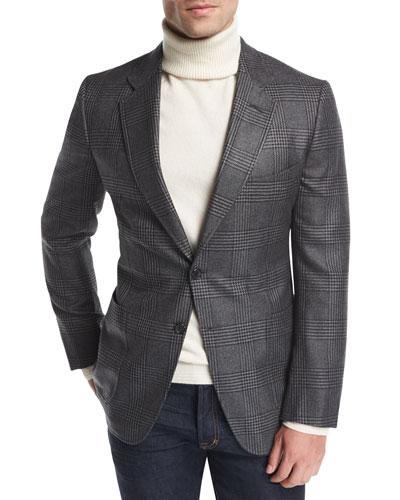 O'Connor Base Plaid Cardigan Jacket