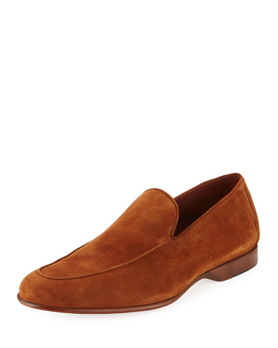 Calf Suede Loafer