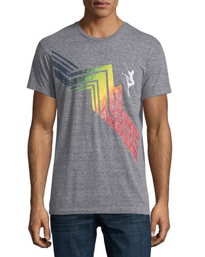 Cascade Mountain Slub Crewneck T-Shirt