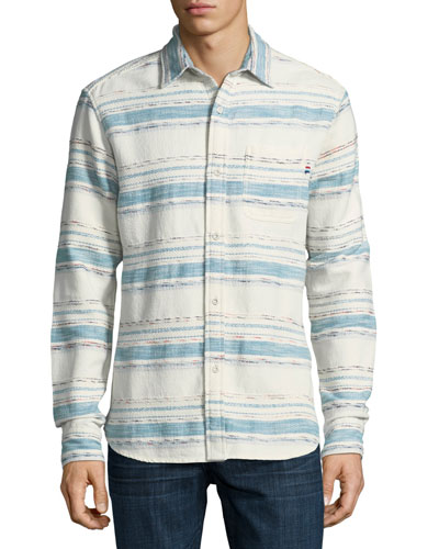 Sedona Striped Cotton Shirt
