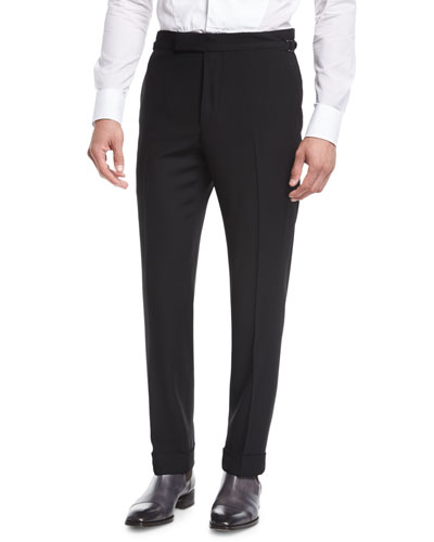 O'Connor Base Twill Flat-Front Trousers