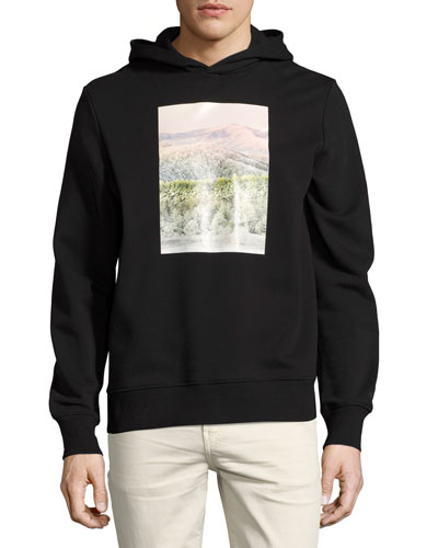 Appalachian Winter Cotton Hoodie, Black