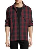 Iamens Check Flannel Shirt