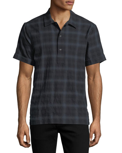 Ashkelon Plaid Polo Shirt