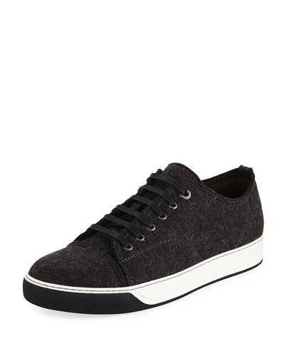 Virgin Wool Low-Top Sneaker