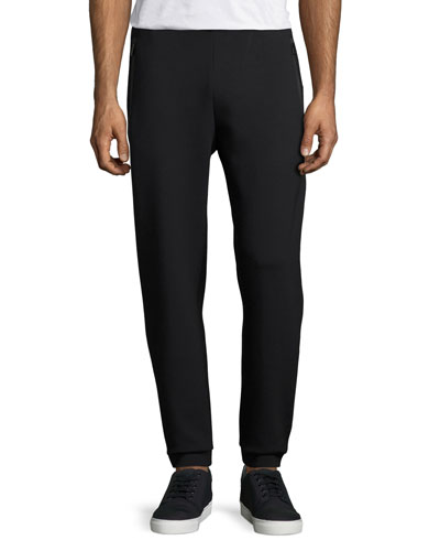 Ponte Jogger Track Pants, Navy