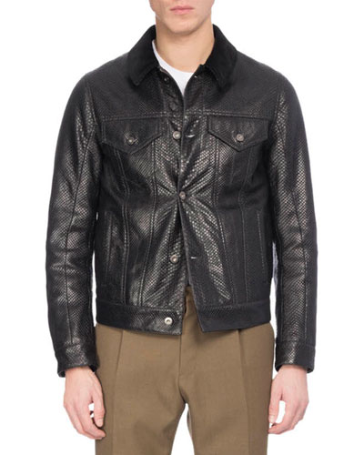 Python Western Jacket
