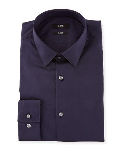 Slim-Fit Stretch Dress Shirt