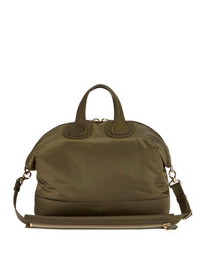 Men's Nylon Nightingale Bag, Khaki