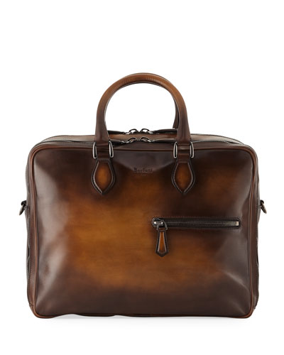 Formula Venezia Calf Leather Briefcase