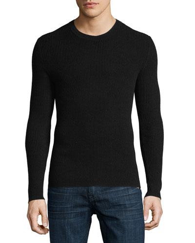 Enzo C Cashmere Long-Sleeve Shirt