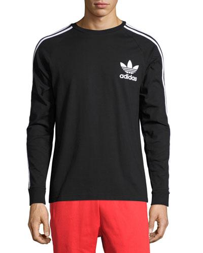 California Long-Sleeve T-Shirt, Black