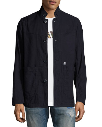 Bronson Canvas Blazer, Dark Aged
