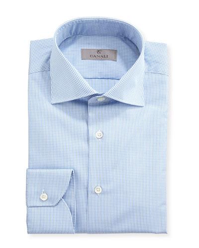 f5aa763b24b Quick Look. Canali · Graph-Check Dress Shirt ...