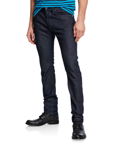 Men's Thommer Slim Fit Denim Jeans with Tonal Stitching