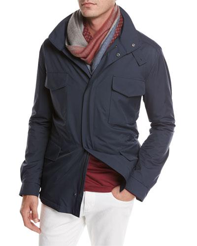 Traveler Windmate® Stretch Storm System® Jacket, Dark Blue