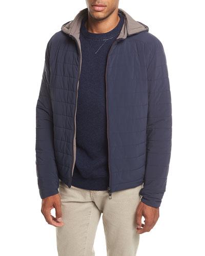 Rain Down Hooded Jacket