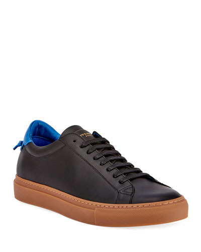 Men's Urban Knot Leather Low-Top Sneaker