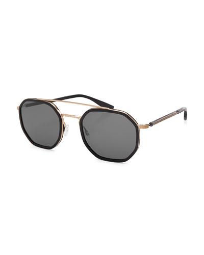 Men's Themis Octagonal Sunglasses