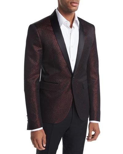 Tokyo Lurex Metallic Tuxedo Jacket