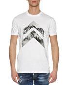Mountain Peaks T-Shirt, White