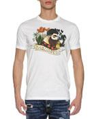 Lumberjack Logo T-Shirt, White