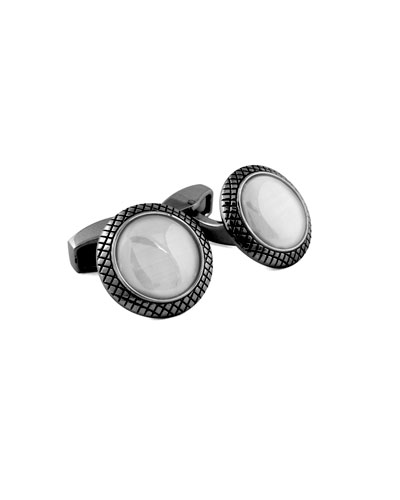 Bull's Eye Cuff Links
