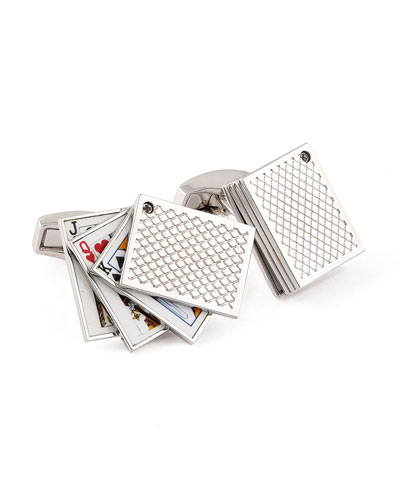 Playing Cards Cuff Links