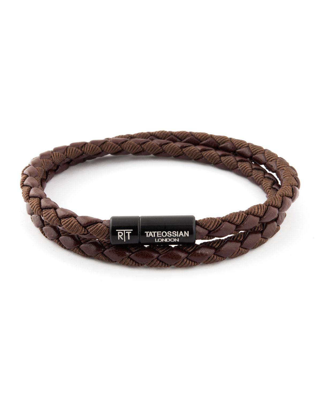 Chelsea Double-Wrap Braided Bracelet