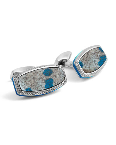 Limited Edition Stones of the World Cuff Links
