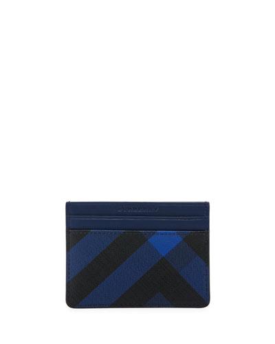 Sandon London Check Card Case