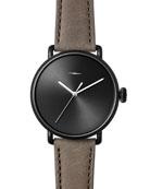 Men's 42mm Canfield Bolt Watch, Black/Gray