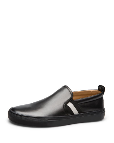 Herald Leather Slip-On Sneaker