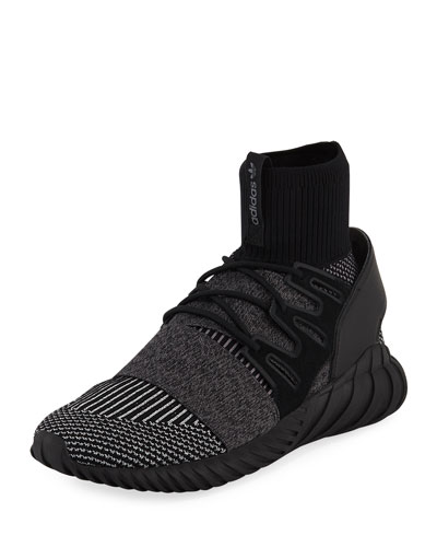 Men's Tubular Doom PrimeKnit® GID Sneaker, Black