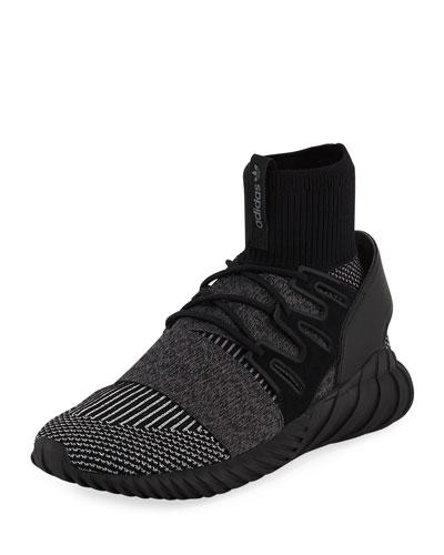 Men's Tubular Doom PrimeKnit® GID Sneaker, Black