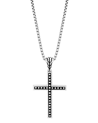 Men's Classic Chain Jawan Cross Pendant Necklace