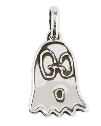 GucciGhost Sterling Silver Charm