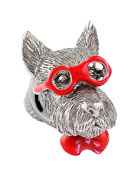 Bookish Scottish Terrier Pin