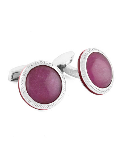 Limited Edition Signature Doublet Ruby Cuff Links