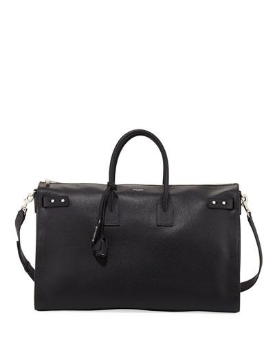 48-Hour Leather Duffel Bag
