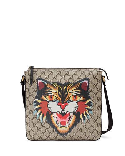 Angry Cat GG Supreme Messenger Bag