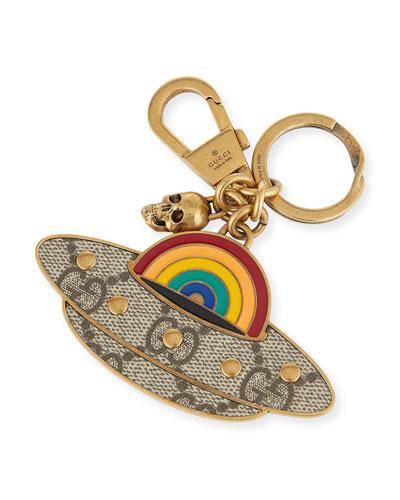 UFO GG Supreme Metal Key Chain