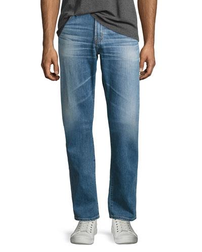 Graduate Das Straight-Leg Jeans, Light Blue